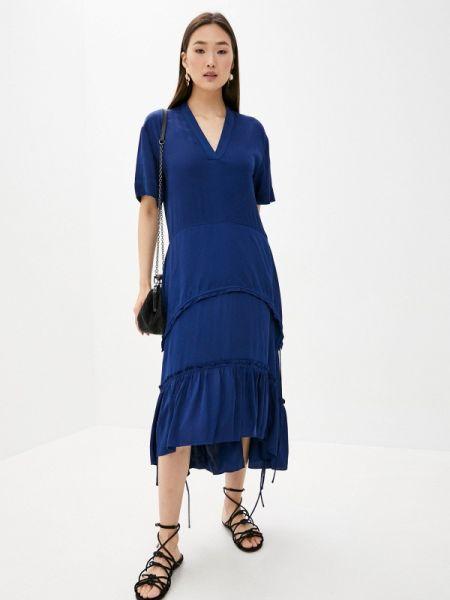 Платье - синее By Malene Birger