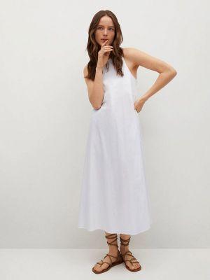 Белое платье Mango