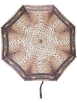 Зонт с принтом - черный Moschino
