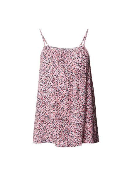 Różowa piżama z wiskozy Tommy Hilfiger