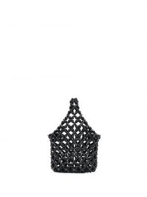 Сумка с бисером - черная Simone Rocha