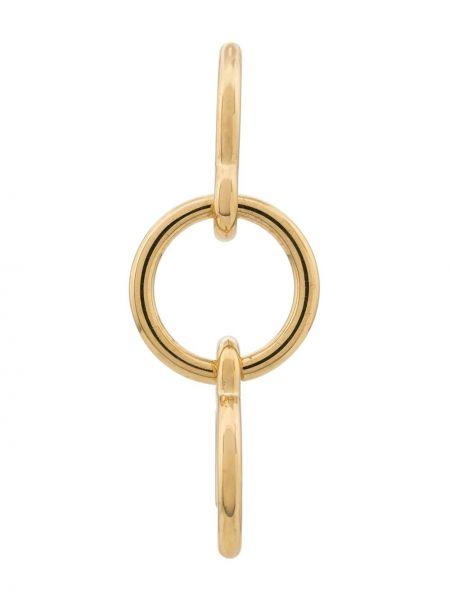 Серебряные серьги на кнопках Charlotte Chesnais