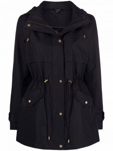 Czarna klasyczna kurtka Lauren Ralph Lauren