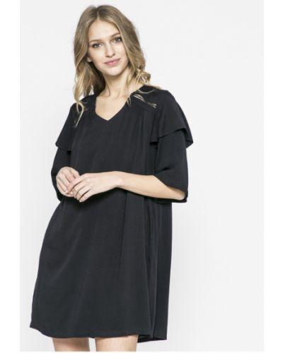 Платье мини с V-образным вырезом на пуговицах Answear
