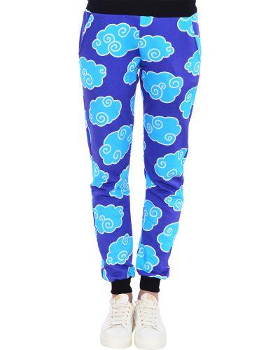 Спортивные брюки весенний синие 10x10anitaliantheory