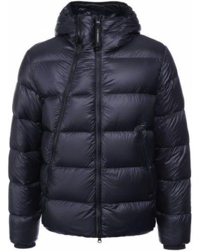 Куртка с капюшоном пуховая на молнии C.p. Company