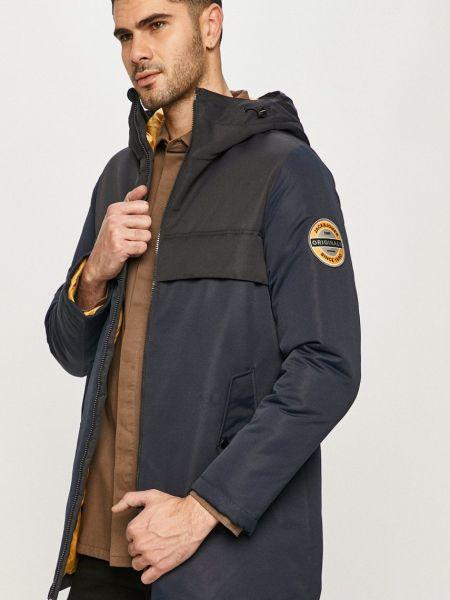 Куртка с капюшоном - синяя Jack & Jones