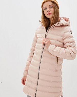 Утепленная куртка осенняя розовая Icepeak