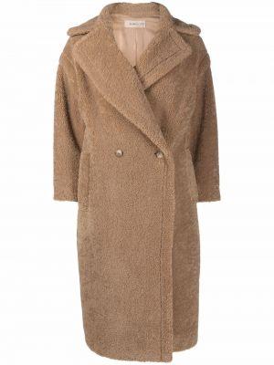 Brązowy klasyczny płaszcz Blanca Vita