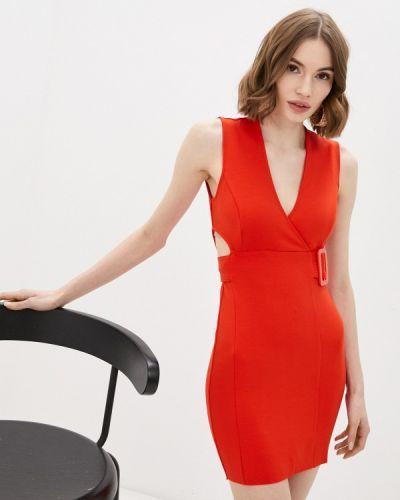 Красное вечернее платье Colcci