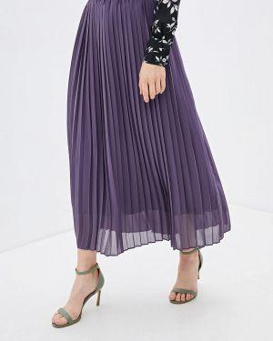Плиссированная юбка фиолетовый With&out