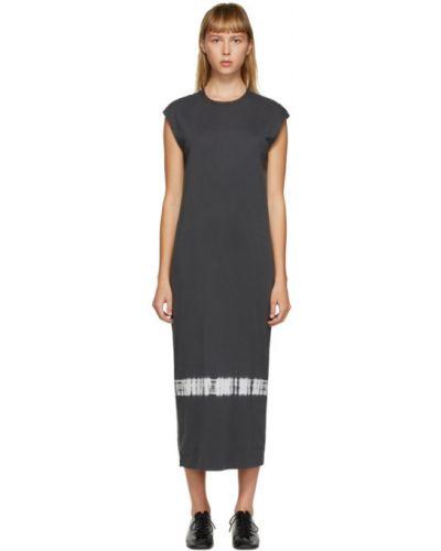Платье сетчатое с воротником без рукавов с сеткой Raquel Allegra