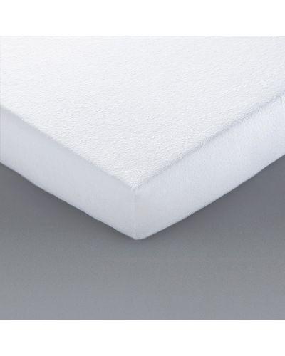 Белый чехол для матраса на резинке La Redoute Interieurs