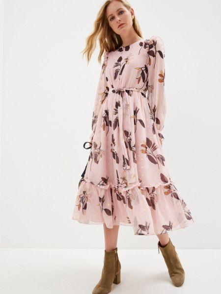Повседневное платье розовое весеннее Ted Baker London