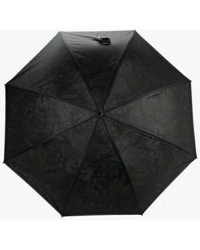 Зонт-трость черный Eleganzza