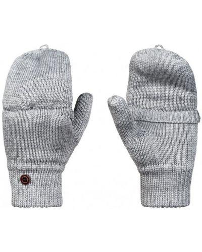 Серые перчатки теплые Roxy