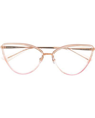 Różowe okulary Christian Roth