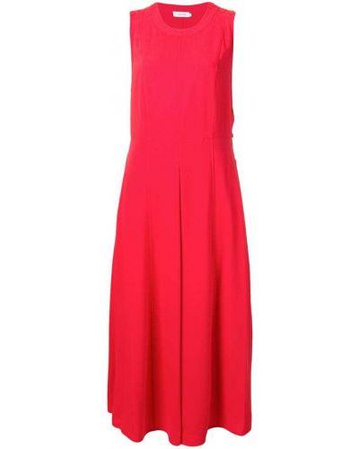 Платье на пуговицах с вырезом Calvin Klein