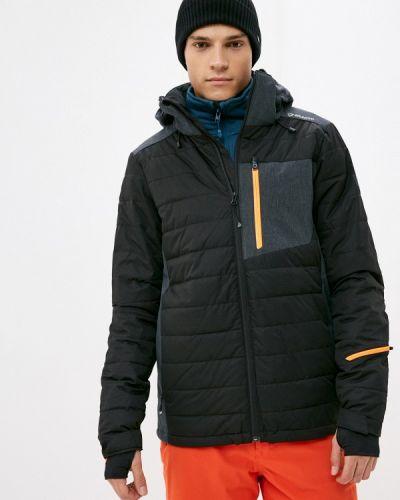 Черная утепленная куртка Brunotti