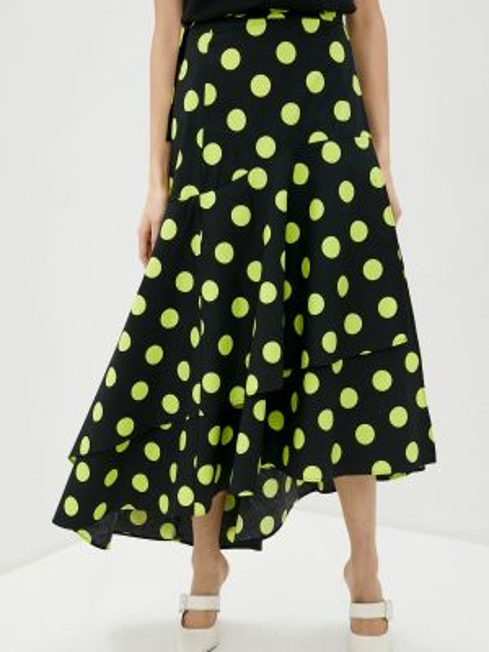 Джинсовая юбка - зеленая Guess Jeans