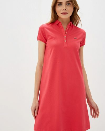 Платье розовое футболка U.s. Polo Assn.