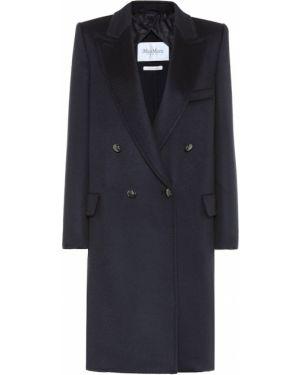 Пальто синее кашемировое Max Mara