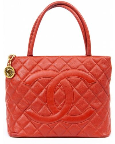 Złoty medalion Chanel Pre-owned