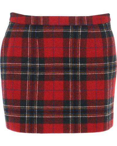 Czerwona spódnica wełniana Red Valentino