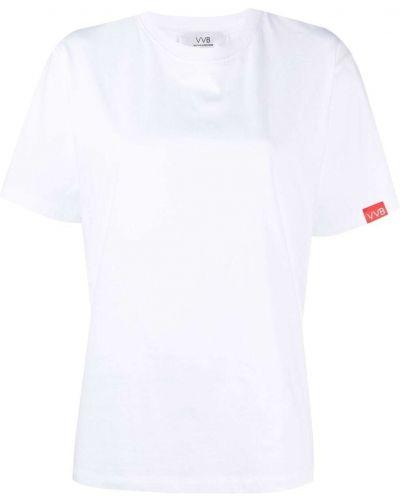 Белая футболка с короткими рукавами Victoria, Victoria Beckham