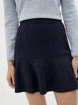 Синяя зимняя юбка Raya