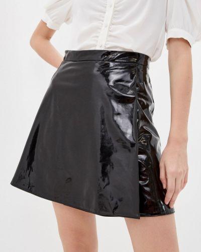 Черная юбка свободного кроя Trendyangel