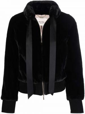 Черная куртка с воротником Blugirl