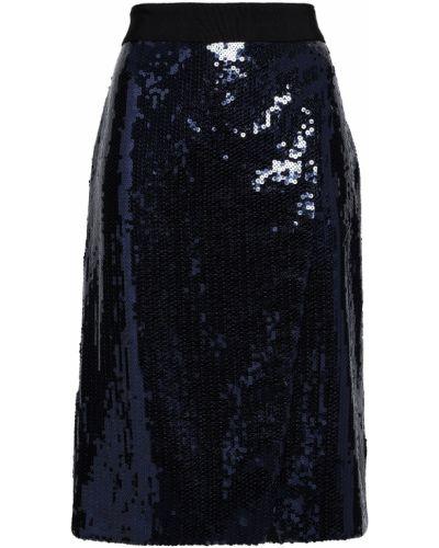 Юбка с пайетками на крючках с подкладкой Victoria, Victoria Beckham