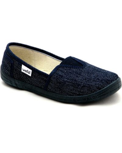 Домашние школьные кожаные туфли Waldi