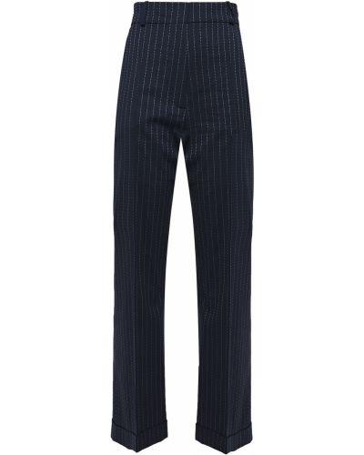 Spodnie wełniane z paskiem Racil