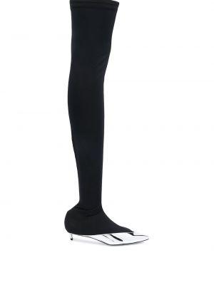 Buty na obcasie na pięcie z ostrym nosem Givenchy