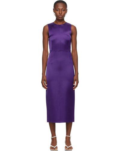 Платье атласное - фиолетовое Georgia Alice