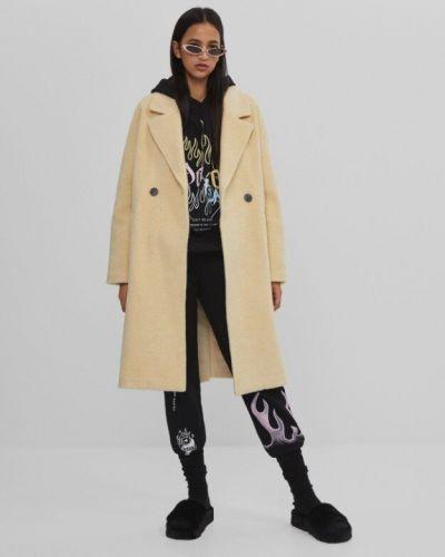 Длинное пальто Bershka