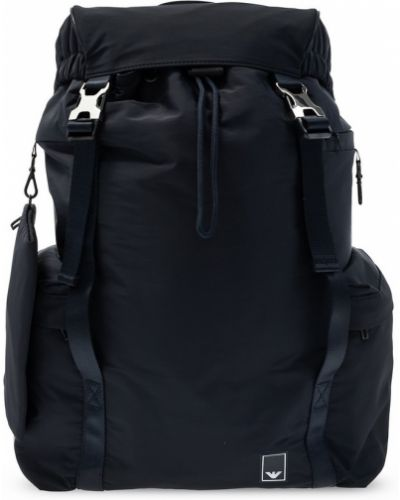 Plecak sportowy - czarny Emporio Armani