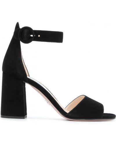 Босоножки на каблуке Prada