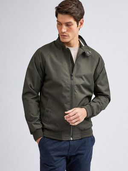 Облегченная куртка хаки Burton Menswear London