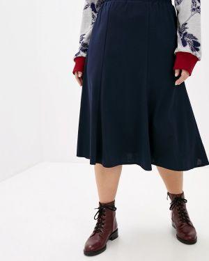 Платье осеннее синее Darissa Fashion