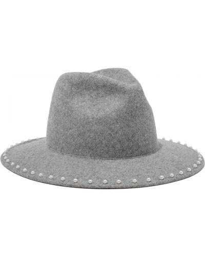 Фетровые шляпа - серые Eugenia Kim
