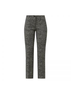 Czarne spodnie materiałowe Rosner