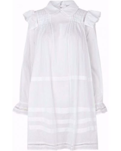 Biała sukienka Munthe
