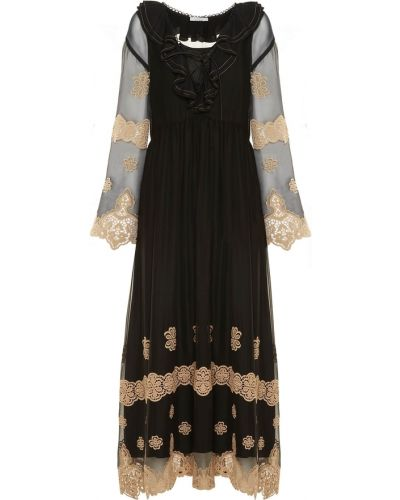 Czarna sukienka Sfizio