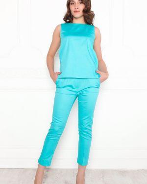 Блузка без рукавов приталенная большой Lautus