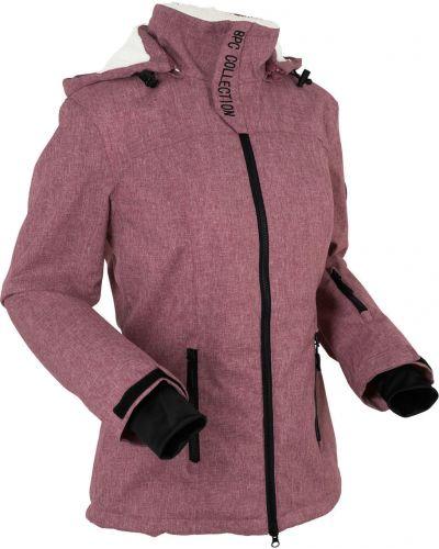 Плюшевая куртка с капюшоном с манжетами мятная Bonprix