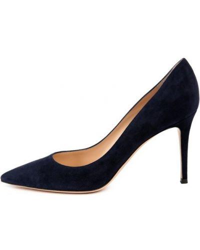 Туфли-лодочки на высоком каблуке кожаные Gianvito Rossi