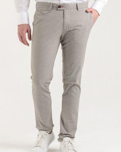 Повседневные бежевые брюки Angelo Bonetti